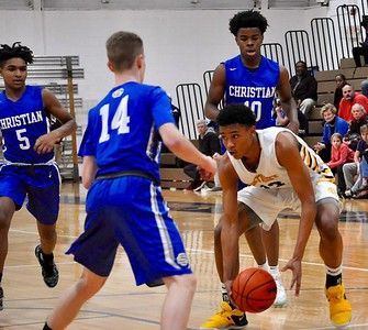 Southfield Christian defeated Birmingham Detroit Country Day 61-53 on Friday, Jan. 11, 2019. (DAN FENNER - For Digital First Media)