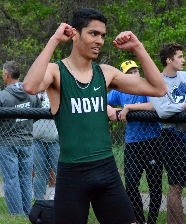 . Milford held a Division 1 track regional on Friday featuring a number of Oakland County teams. The Novi boys team claimed the regional championship. (Oakland Press photo gallery by Drew Ellis)