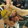 Rochester Adams captured their third straight MHSAA D1 District Team Title by defeating Lake Orion 46-19 in the finals.  The matches were played on Thursday Feb. 9, 2017 at Lake Orion HS.  Adams defeated Rochester and LO defeated Stoney Creek in the semi-finals.  (MIPrepZone photo by Ken Swart)