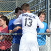 Dakota traveled back to Troy Athens on Tuesday for another shot at a regional soccer championship. The Cougars fell just short, losing 5-4 in a shootout and 3-2 to the Red Hawks. (MIPrepZone photo by Jason Schmitt)