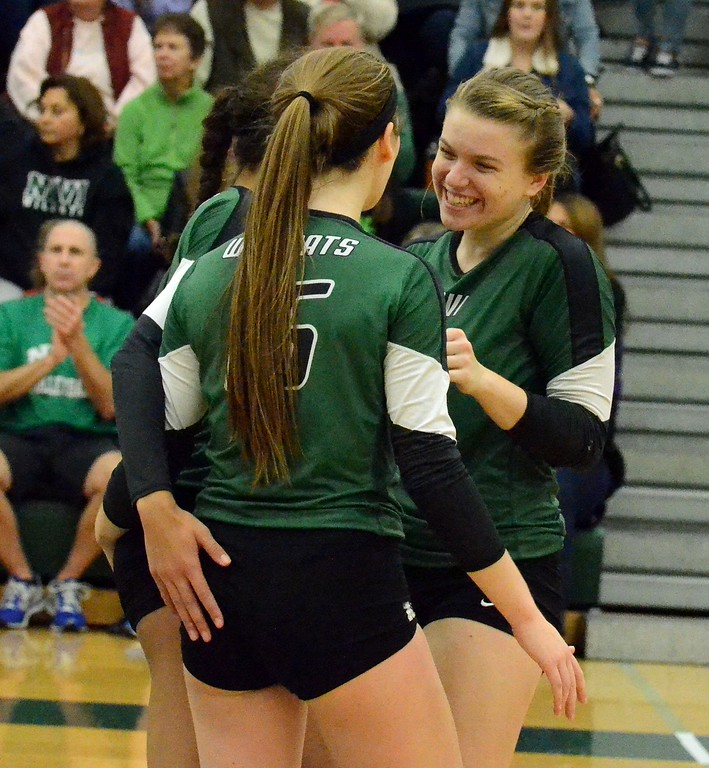 . After winning three state championships in Class A, a runner-up and the 2017 Miss Volleyball award, Novi\'s Erin O\'Leary will go down as one of the all-time greats in Michigan prep history. (Oakland Press file photograph)