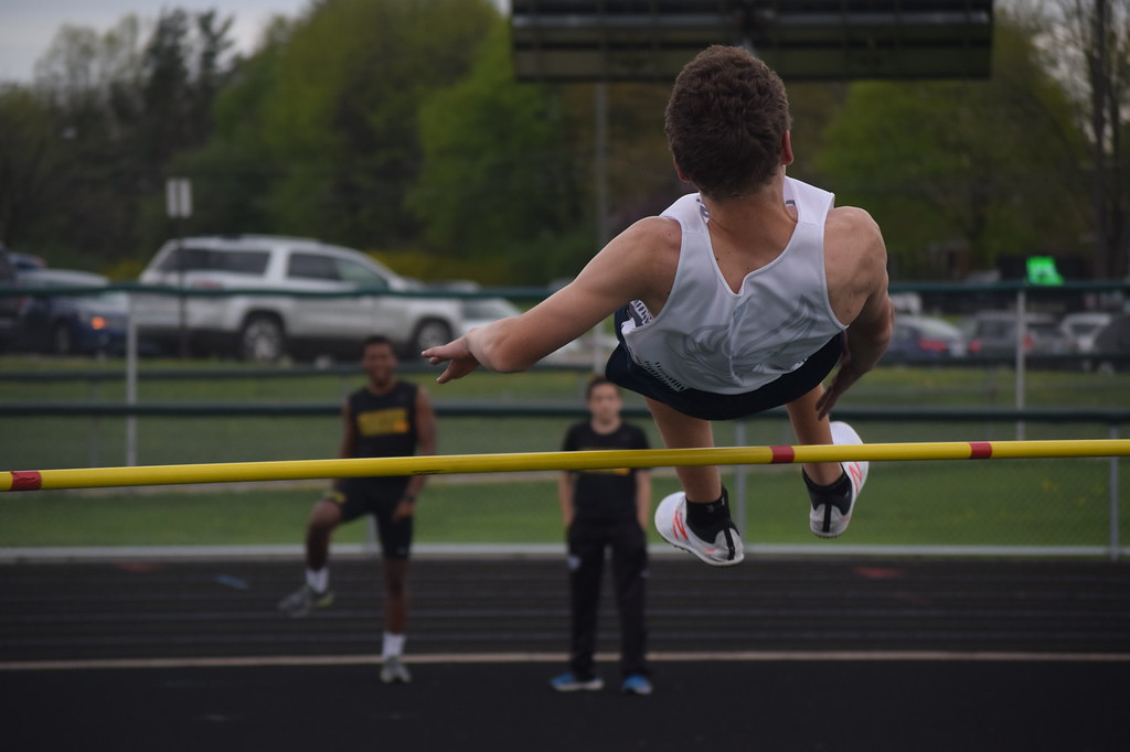 . Birmingham Seaholm\'s boys and girls track teams took first place in the OAA Blue championship on Wednesday at West Bloomfield. (Photo by Paula Pasche)