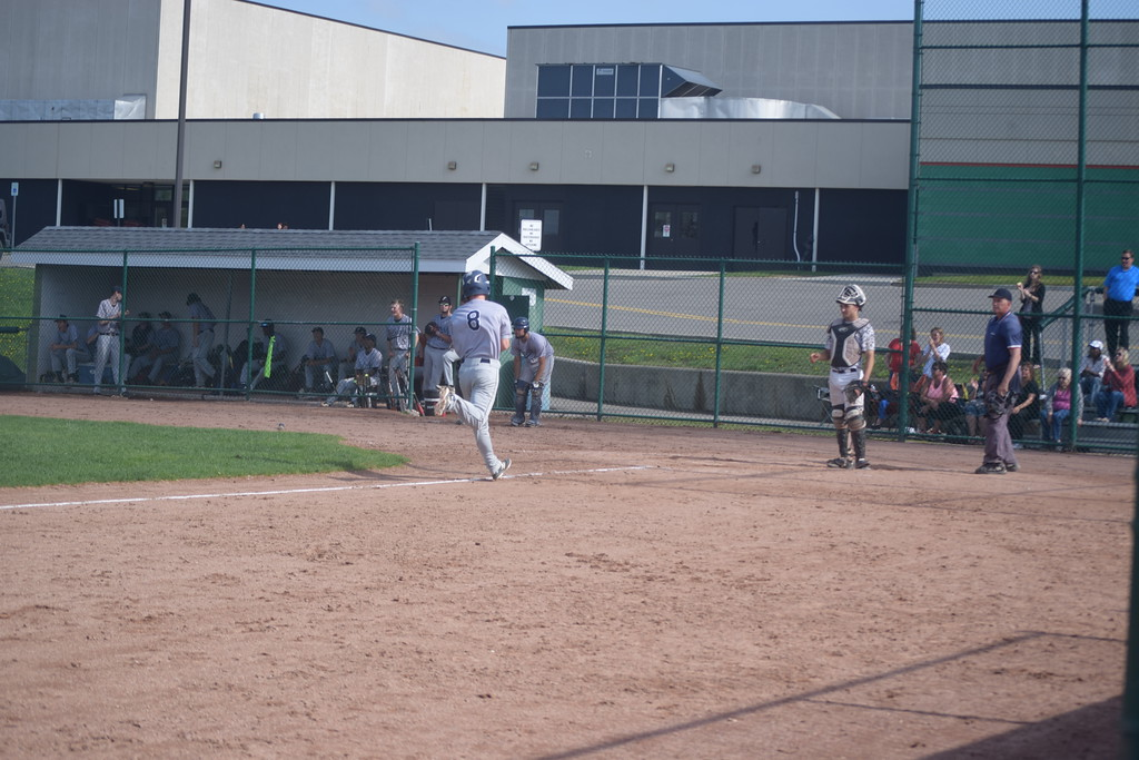 . The Farmington Falcons swept a baseball doubleheader against West Bloomfield on Monday to take at least a share of the OAA White title. (Photo by Paula Pasche)