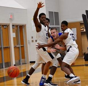 Novi Detroit Catholic Central and Detroit Loyola faced off in the CHSL Tournament semifinals on Wednesday, Feb. 13, 2019. (DAN FENNER - For Media News Group)