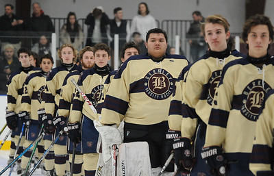 The Clarkston Wolves defeated the Berkley Bears 5-4 in the OAA match up played on Friday February 8, 2019 at the Oak Park Ice Arena.  (Digital First Media photo by Ken Swart)