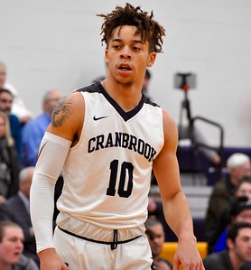 Royal Oak Shrine and Bloomfield Hills Cranbrook Kingswood squared off in a Catholic League tournament semifinal on Tuesday, Feb. 12, 2019. (DAN FENNER - For Media News Group)