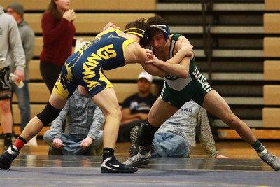 The Division 1 Individual Regional Finals were held Saturday February 16, 2019 in Hartland. (CAITLIN and TIMOTHY ARRICK - For Media News Group)