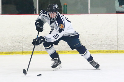 South Lyon Unified goalie Andrew Lowen held off a late Lakeland charge allowing the SLU squad to take home a 4-3 victory and move to the top of the Lakes Valley Conference standings at 8-1. (Oakland Press photo by Timothy Arrick)