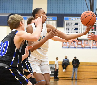 Lakeland avenge an earlier loss to Waterford Mott, upending the Corsairs, 48-42, in a Lakes Valley Conference tournament semifinal game Friday night at Mott High School. (JASON SCHMITT - For Media News Group)
