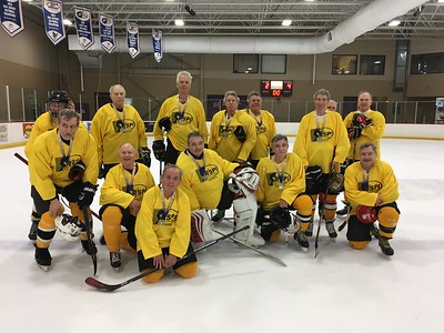 The Michigan Senior Olympics wrapped up play Friday at the Troy Sports Center, with medal round games for 60+ and 70+ divisions. (Photo contributed)