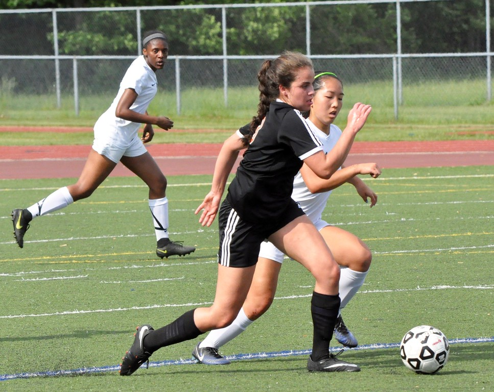 . Novi and Northville faced off in a Division 1 girls soccer district semifinal game at Livonia Stevenson High School on Thursday, May 31, 2018. (Photo gallery by Dan Fenner/The Oakland Press)