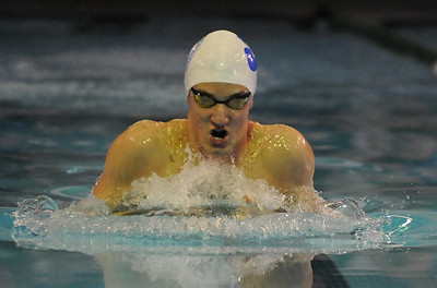 Novi Detroit Catholic Central won the 2019 Oakland County Swim Championship held on Saturday February 2, 2019 at Lake Orion HS.  Harrison-Farmington placed second and Brother Rice finished in third.  (Digital First Media photo by Ken Swart)