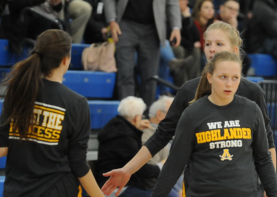 Rochester Adams defeated crosstown rival Rochester 52-40 in the OAA White/Blue crossover game played on Tuesday February 5, 2019 at Rochester High School.  (Digital First Media photo by Ken Swart)