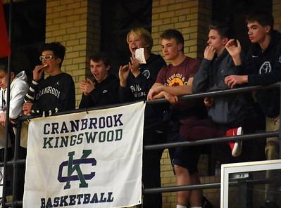 Bloomfield Hills Cranbrook-Kingswood knocked off Royal Oak Shrine, 67-43, at home Friday night in Bloomfield Hills. (Digital First Media photo by Jason Schmitt)