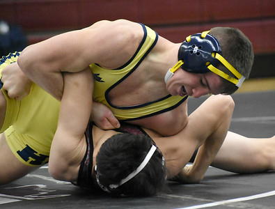 Hartland captured its 18th straight regional wrestling title Wednesday night, defeating U-D Jesuit, 71-12, in the final. The Eagles beat host Birmingham Seaholm in one semifinal, while the Cubs knocked off West Bloomfield in the other. (JASON SCHMITT - For Media News Group)