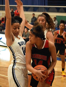 Southfield A&T traveled to Royal Oak Tuesday night and handed the Ravens their first loss of the season, 60-47, in a battle of unbeaten OAA Red foes. (Digital First Media photo by Jason Schmitt)