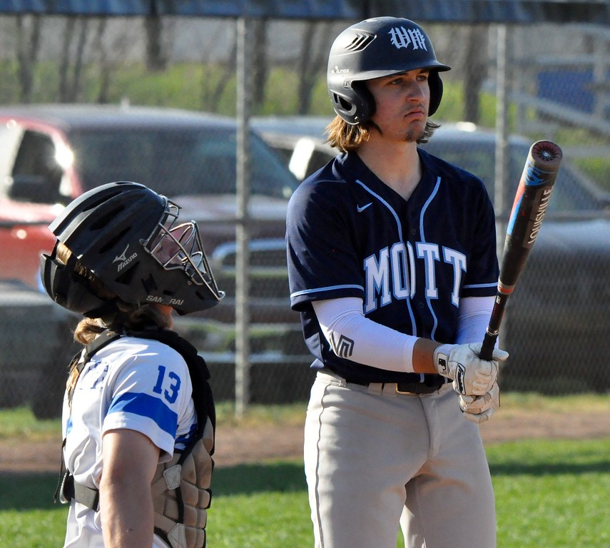 . Lakeland hosted Waterford Mott for a Lakes Valley Conference baseball doubleheader on Tuesday, May 8, 2018. (Photos by Dan Fenner/The Oakland Press)