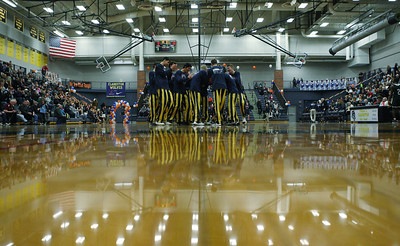 Clarkston defeats West Bloomfield 69-45 in varsity basketball action at Clarkston High School Friday, Feb. 1, 2019. (For The Oakland Press / LARRY McKEE)
