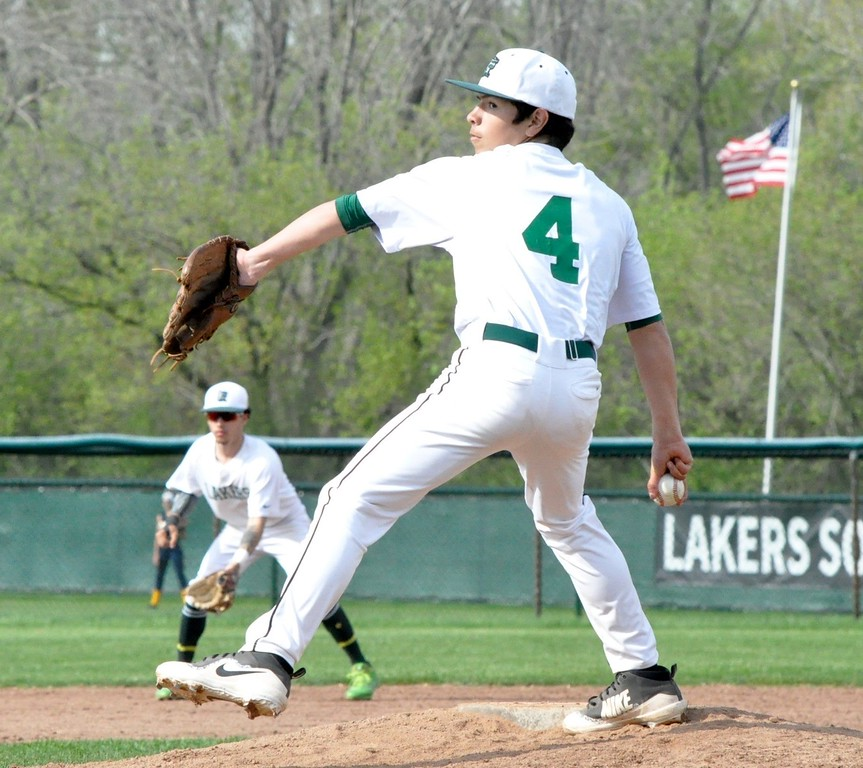 . West Bloomfield hosted Birmingham Groves for an Oakland Activities Association White Division baseball game on Wednesday, May 9, 2018. (Photo gallery by Dan Fenner/The Oakland Press)