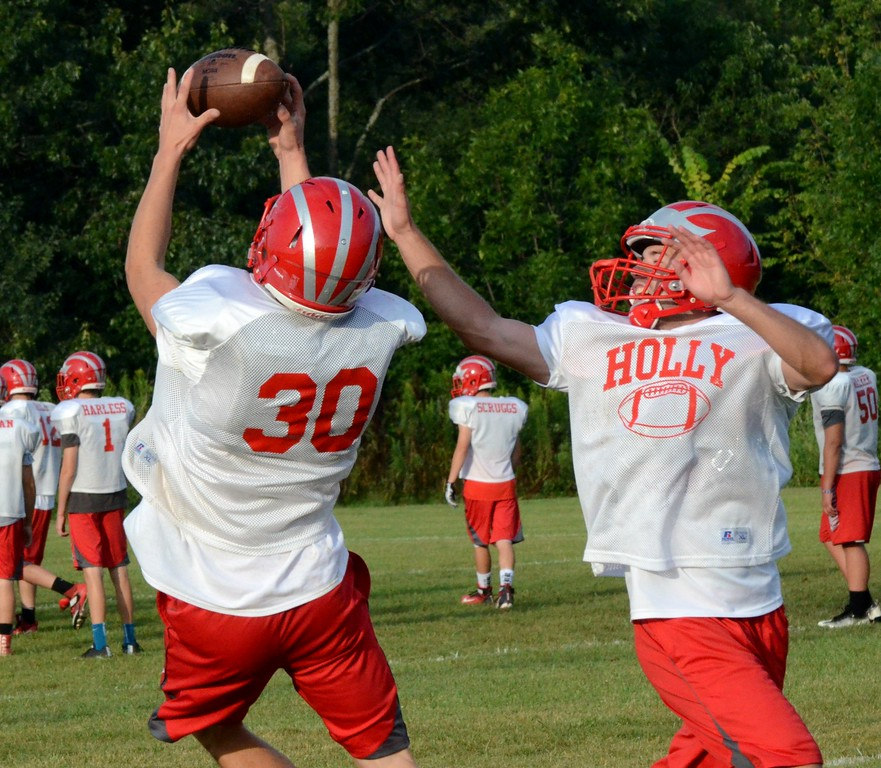. The Holly Bronchos are coming off a second consecutive 5-win season in 2016. Holly just missed out on the playoffs last season, but finished 2016 with their first winning record since 2012. (Oakland Press photo by Drew Ellis)