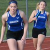 Holly's boys had an easy victory but Ortonville Brandon's girls were chased to the wire in a Flint Metro League track and field meet Tuesday between the only Oakland County teams in the conference. (MIPrepZone photo gallery by MARVIN GOODWIN).