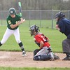 Holly hosted Notre Dame Prep for a double header today.  Notre Dame won the opener 7-4.  (MIPrepZone photo by Tom Tomich)