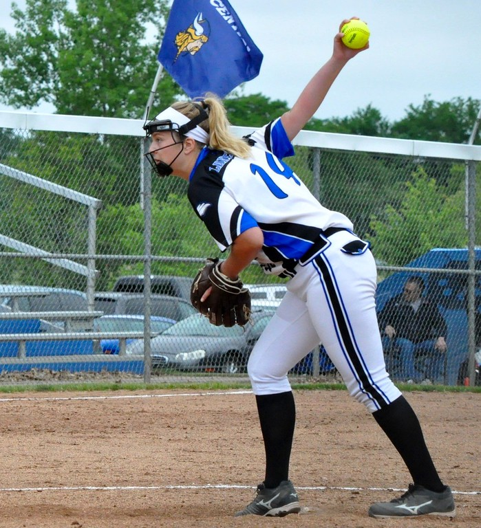 . Walled Lake Northern, Walled Lake Central, West Bloomfield, and Lakeland high schools competed in a Division 1 softball district grouping on Saturday, June 2, 2018. (Photo gallery by Dan Fenner/The Oakland Press)