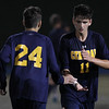 Walled Lake Central heads out of Lakeland with a 1-0 victory over the Eagles Thursday, Sept. 29, 2016. (MIPrepZone photo / LARRY McKEE)