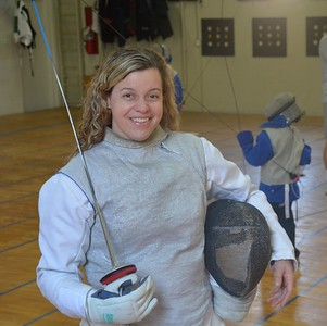 Dr. Ann Marsh-Senic is captain of the US Olympic fencing team which will compete at the Olympic Games in Rio de Janeiro. (Marvin Goodwin)