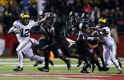 Michigan Rutgers Football
