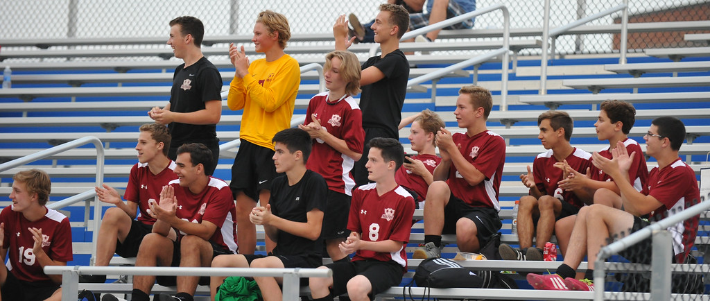 . The Milford Mavericks defeated the Waterford Mott Corsairs 3-2 in the first match of the year in the newly formed Lakes Valley Conference.  The match was played on Monday August 21, 2017 at Waterford Mott HS.  (Oakland Press photo by Ken Swart)