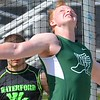 Kyle Piotrovsky of Waterford Kettering launched a season best in the discus and shot put in winning both events. But Waterford Mott had the homefield advantage as the Corsairs' boys and girls topped Waterford Kettering Wednesday in a KLAA dual meet. (MIPrepZone photo gallery by MARVIN GOODWIN).