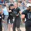 Northville won the Division 1 softball district at Northville High School on Saturday, beating Novi in the final 6-5. Walled Lake Western and South Lyon also competed in the four-team tournament. (MIPrepZone photo by Drew Ellis)