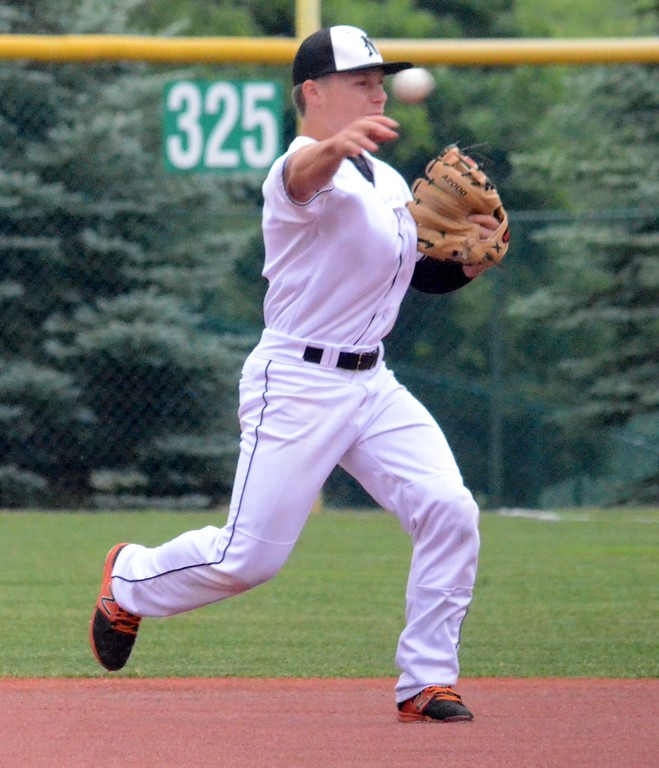 . The Northville baseball team claimed the Division 1 regional championship at Novi on Sunday with a 1-0 win over Lakeland. Farmington and Hartland also competed for the title this weekend. (Oakland Press photo gallery by Drew Ellis)
