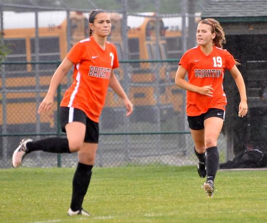 OP Novi vs. Brighton girls soccer