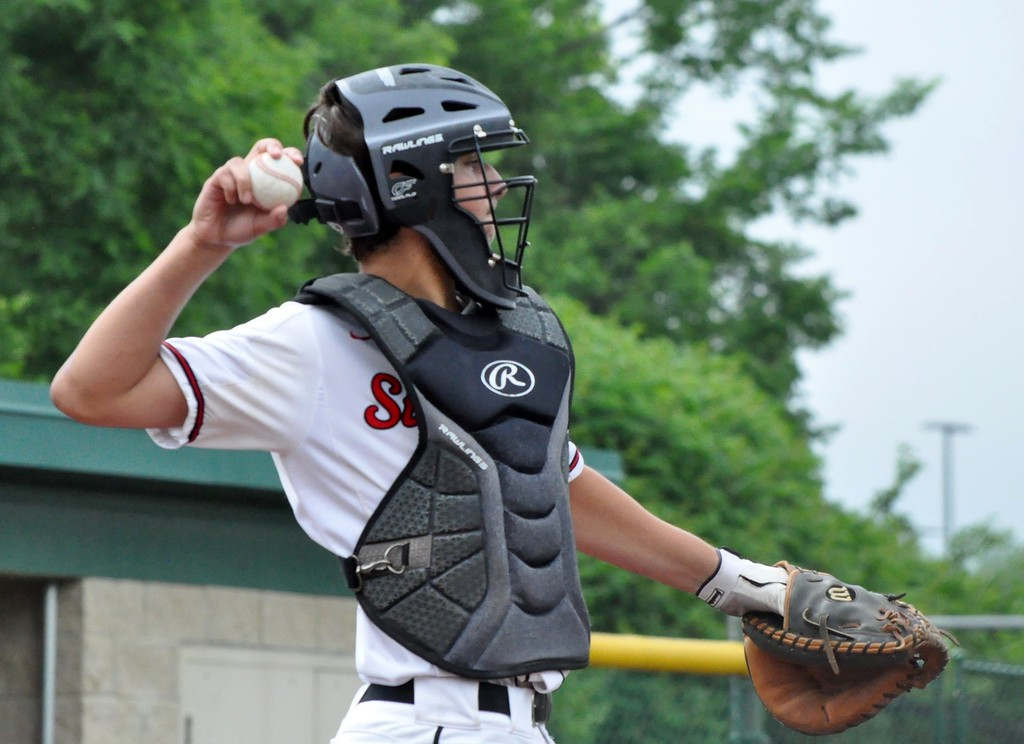 . Orchard Lake St. Mary�s defeated Livonia Clarenceville in a Division 2 quarterfinal game at Novi High School on Tuesday, June 12, 2018. (Photo gallery by Dan Fenner/The Oakland Press)