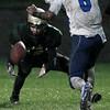 Southfield Christian vs Oakland Christian, varsity football action at Auburn Hills Community Center Friday, Sept. 30, 2016. (MIPrepZone photo / LARRY McKEE)