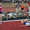 Oak Park's girls placed second and Oak Park's boys were third at the Division 1 state track and field championships at East Kentwood High School, where a number of outstanding performances were recorded. (MIPrepZone photo gallery by MARVIN GOODWIN).