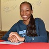 Carlita Taylor is headed for the Ivy League and Columbia University in New York. Oak Park High School featured four track and field athletes who earned scholarships to continue their academic and athletic careers at major universities next season. (MIPrepZone photo gallery by MARVIN GOODWIN).