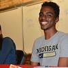 Everything was OK for Bryce Pickett and Carlita Taylor. Oak Park High School featured four track and field athletes who earned scholarships to continue their academic and athletic careers at major universities next season. (MIPrepZone photo gallery by MARVIN GOODWIN).