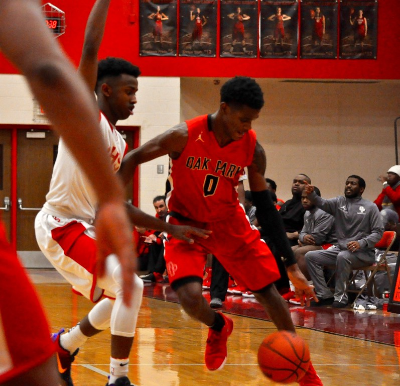 . Troy Athens hosted Oak Park for an Oakland Activities Association White Division basketball game on Thursday, Feb. 8, 2018. Photo gallery by Dan Fenner/The Oakland Press)
