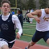 Cranbrook Kingswood's Garrett Powell continues to progress in the 400 dash. (MIPrepZone file photo).