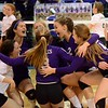 Auburn Hills Oakland Christian lost to Plymouth Christian in four sets in the Class D volleyball final from Kellogg Arena in Battle Creek on Saturday. (MIPrepZone photo by Drew Ellis)