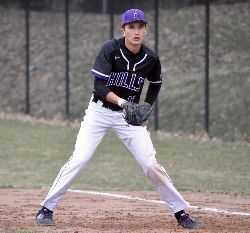 . Bloomfield Hills hosted Oxford for an Oakland Activities Association baseball game on Friday, April 13, 2018. (Photo gallery by Dan Fenner/The Oakland Press)