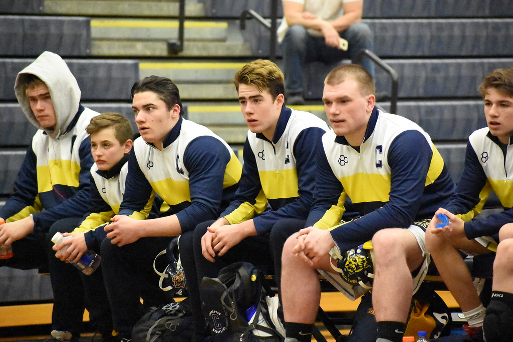 . Wrestling action from Wednesday\'s Division 1 team regional at Clarkston High School. Oxford topped Clarkston in the semifinals before bouncing Lake Orion in the championship match. (For Digital First Media - Jason Schmitt)