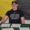Waterford Kettering senior Kyle Piotrovsky signed a National Letter-of-Intent Wednesday to join Oakland University's track and field team as a scholarship athlete. (MIPrepZone photo gallery by MARVIN GOODWIN).