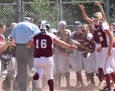 Take a look at the top softball images from the 2017 season around Oakland County. (Oakland Press File Photograph)