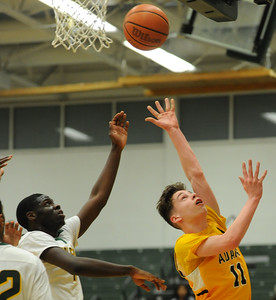 The Rochester Adams Highlanders defeated the Birmingham Groves Falcons 49-48 in the OAA White match up played on Tuesday January 8, 2019 at Groves HS.  (Digital First Media photo by Ken Swart)