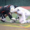 Troy's boys lacrosse team picked up a 10-3 win over Rochester Adams on Thursday in the midst of steady rainfall. (MIPrepZone photo by Drew Ellis)