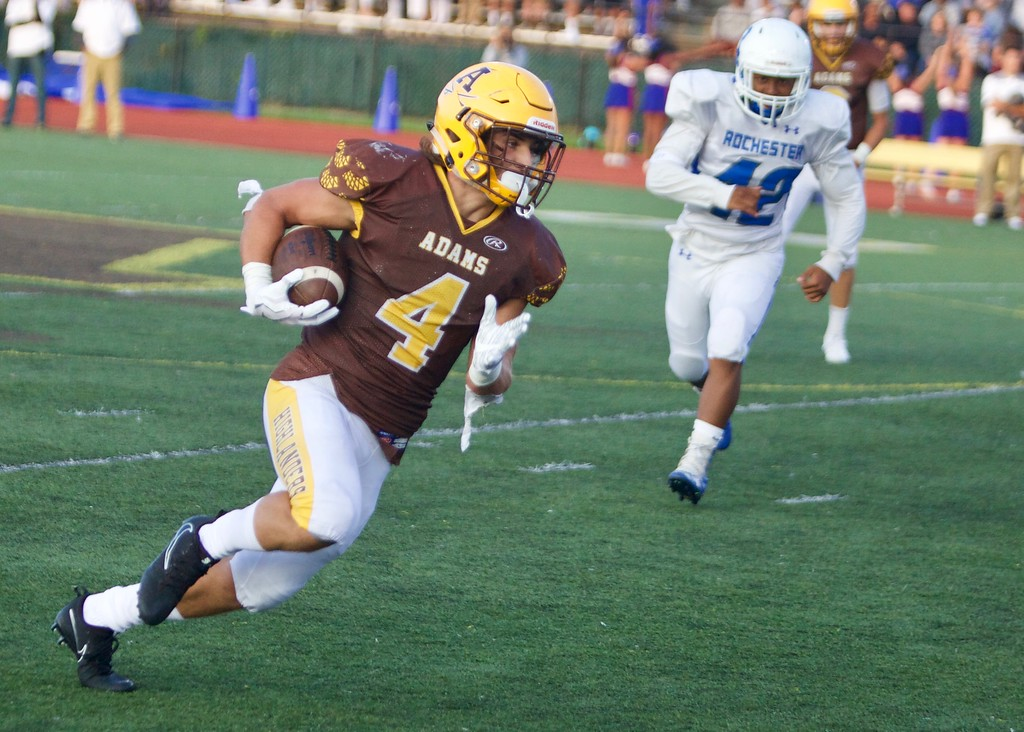 FOOTBALL: Rochester Adams tops Rochester, in photos
